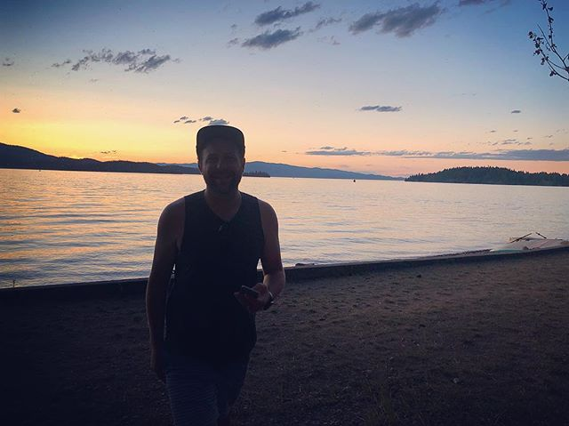Travis is always after that perfect pano. 🌅