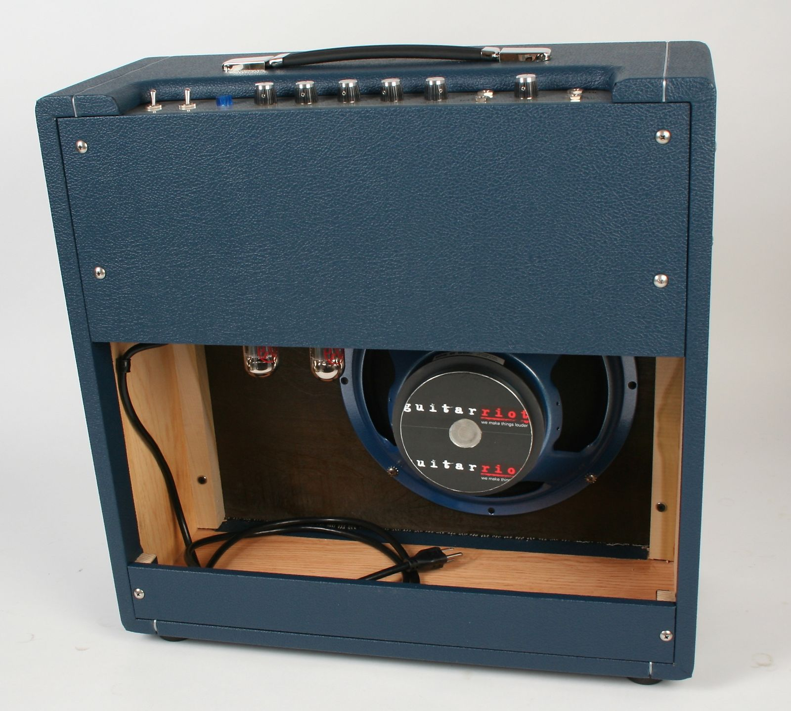 """Big sound in a small package. - The NARB 20 Combo has been specially designed with portability and functionality in mind. Featuring a custom voiced speaker modeled after the Celestion """"Pulsonic"""" speakers found in 60's and 70's era British amps, the 20 Combo is easily miked on stage or in the studio."""