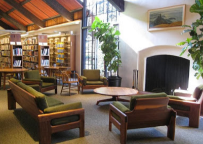 Interior of Mill Valley Public Library