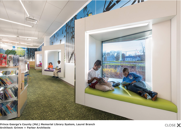 Prince George's County Library, Teen Space. Source: American Libraries, September/October 2019