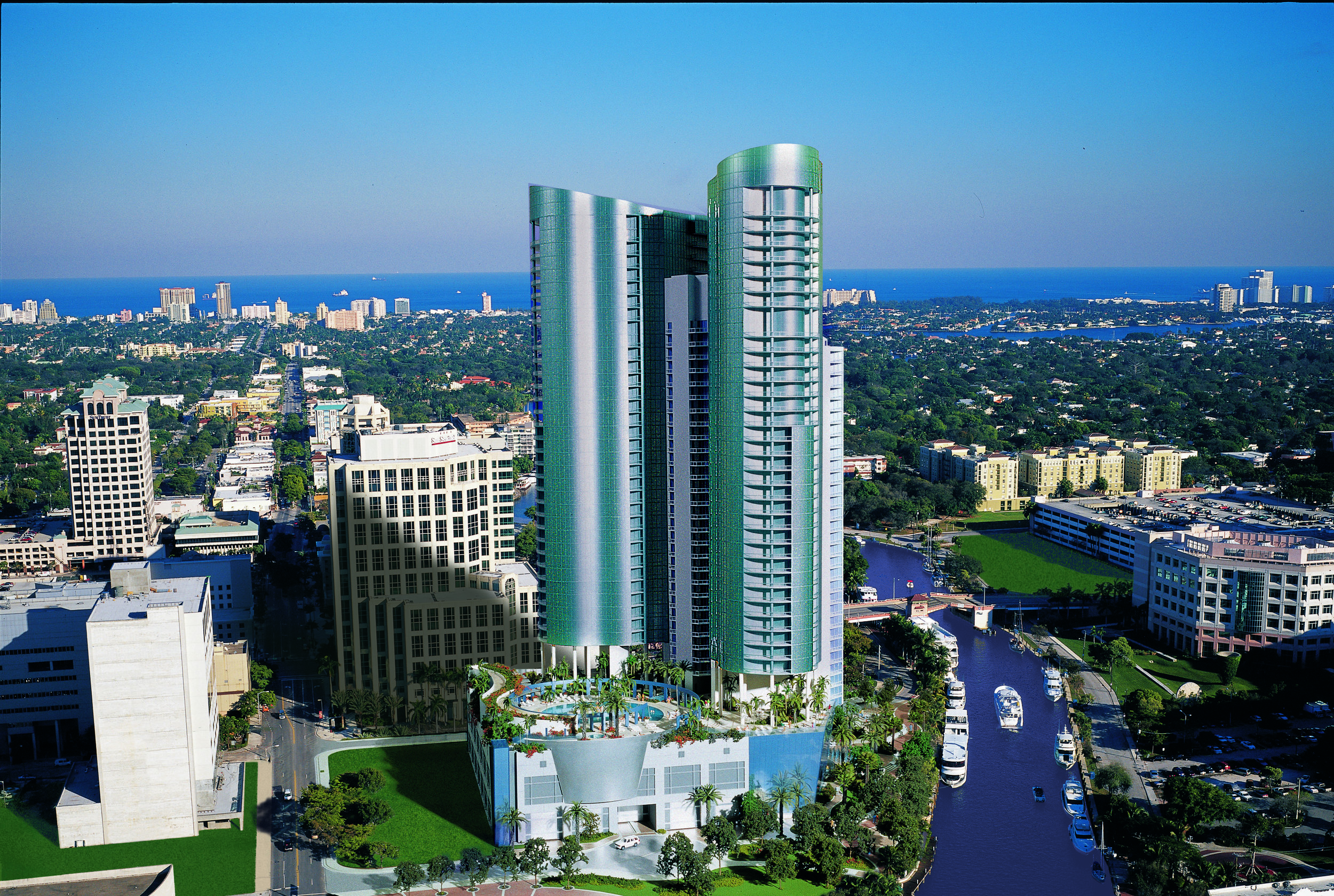 Las Olas River House | Fort Lauderdale, FL | Architect: Sieger Suarez