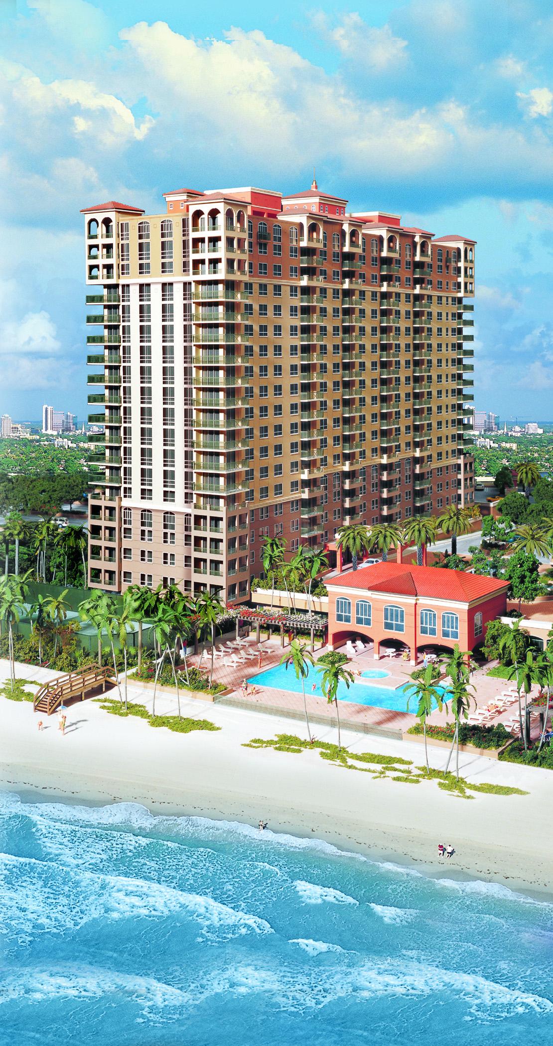 Residential Building | Hallandale Beach, FL    Architect: Cohen Freedman Encinosa