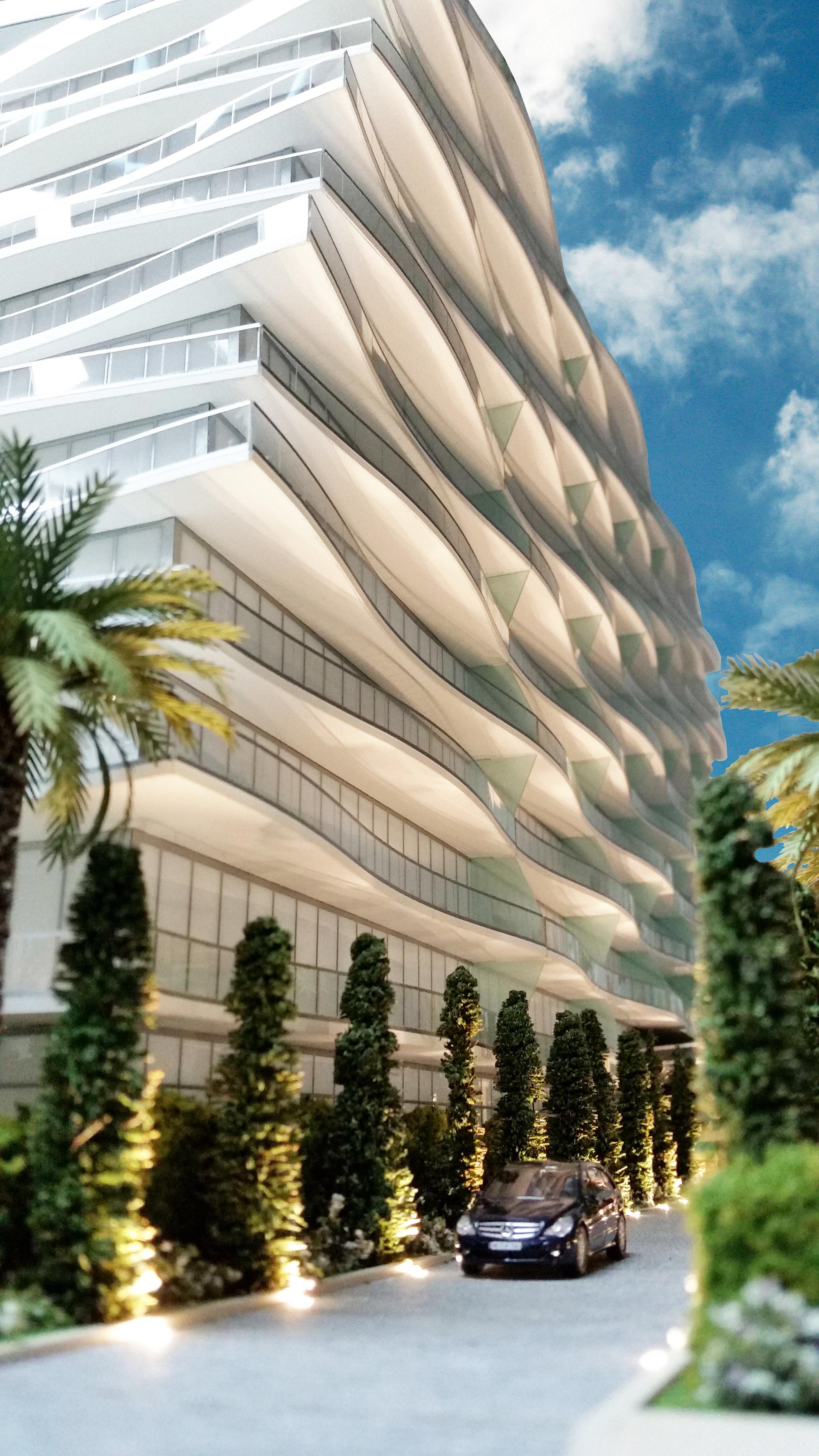 Chateau Fendi | Miami, FL | Architect: Arquitectonica