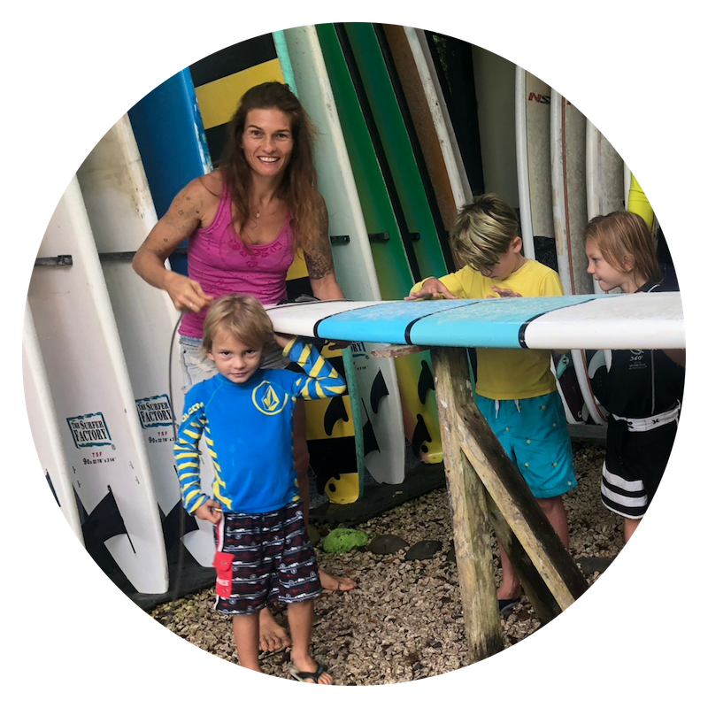 best surf lessons kids costa rica