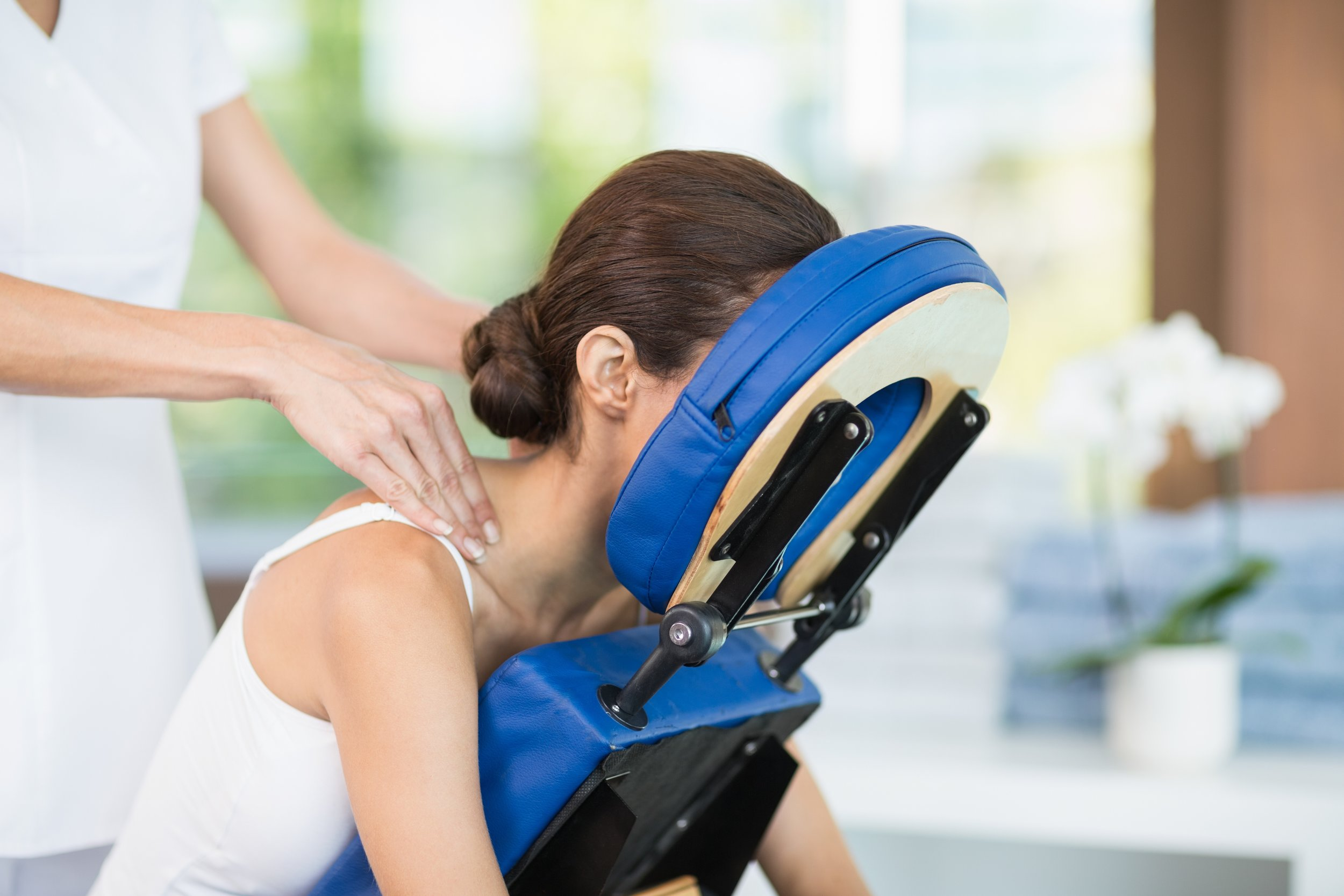 Chair Massage - Enjoy an efficient upper body massage.Rate:$1 per minute, starting at 10 minutes