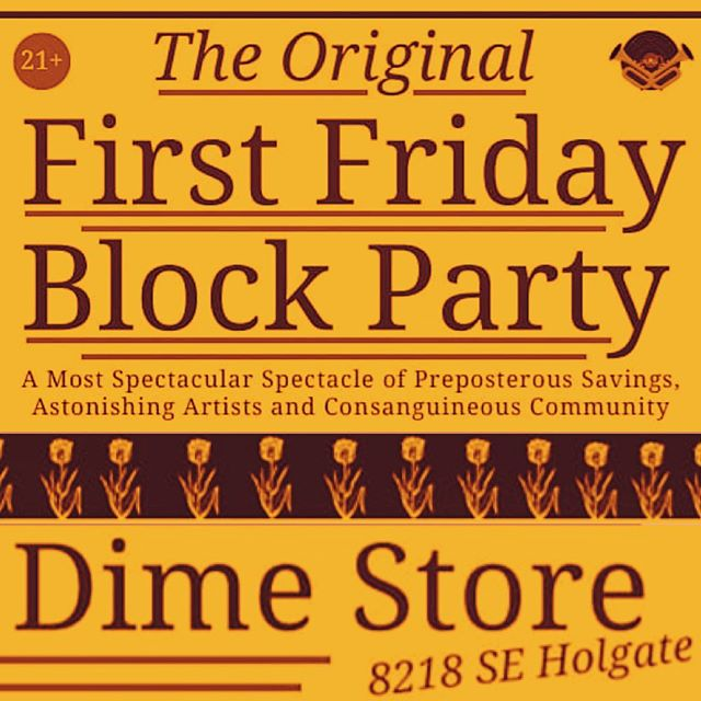 First Friday! We'll be at The Dime Store in SE PDX today from 3 pm until 6 pm! Come say hello and check out our inhalers! . Do not operate a vehicle or machinery under the influence of this drug For use only by adults twenty-one years of age and older Keep out reach of children
