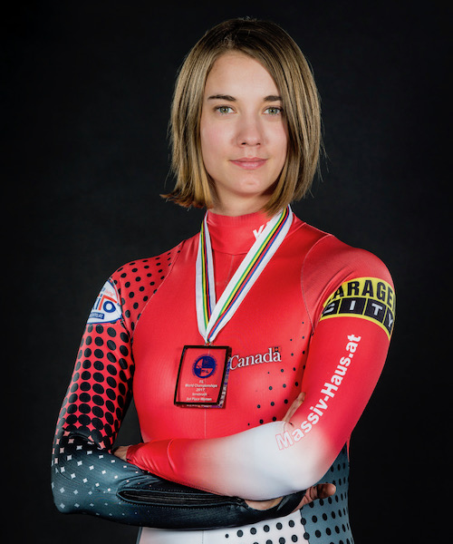Kimberley McRae - CAT-i event coordinator; U-Map Document EngineerA member of the CAT-I team since 2012, Kim is also an active member of the Canadian luge team. In the Sochi Olympics she placed 5th in the world, and competing for Canada during the World Championships in 2017 in Innsbruck Australia, Kimberley won a stellar Bronze Medal, making her the third fastest luger in the world.
