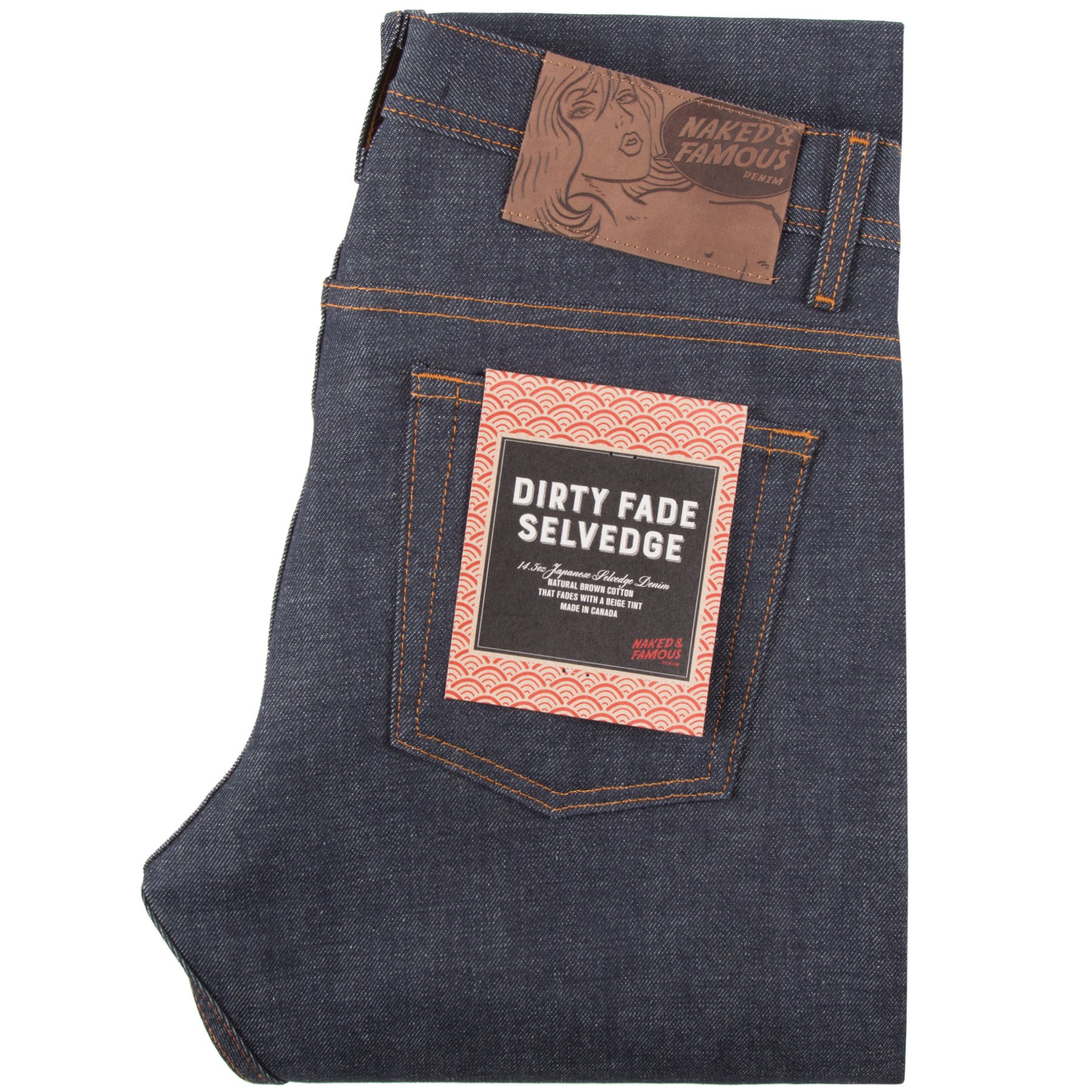 dirty fade selvedge - Super Guy / Weird Guy / Easy Guy / Skinny Guy