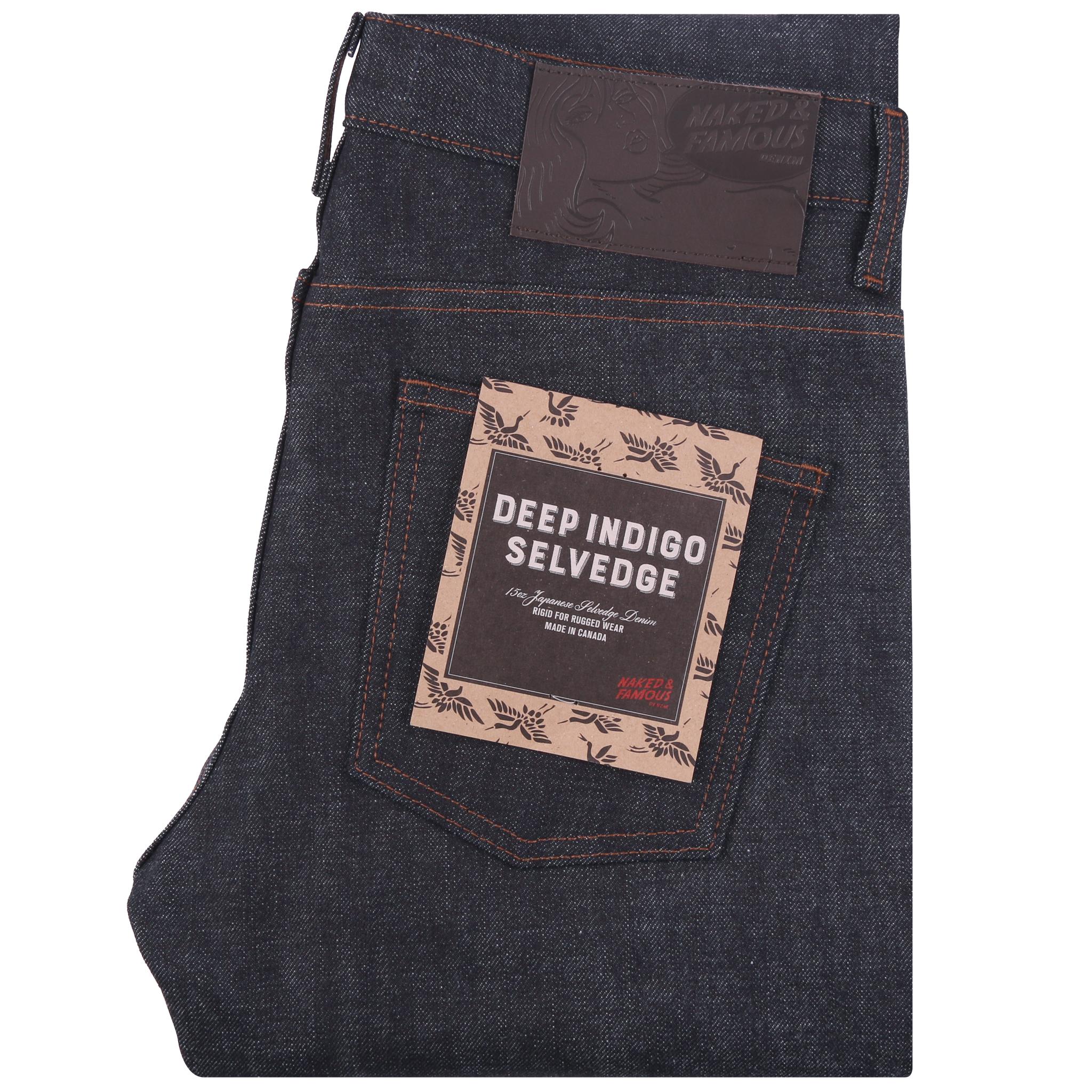 deep indigo rigid selvedge - Super Guy / Weird Guy / Easy Guy