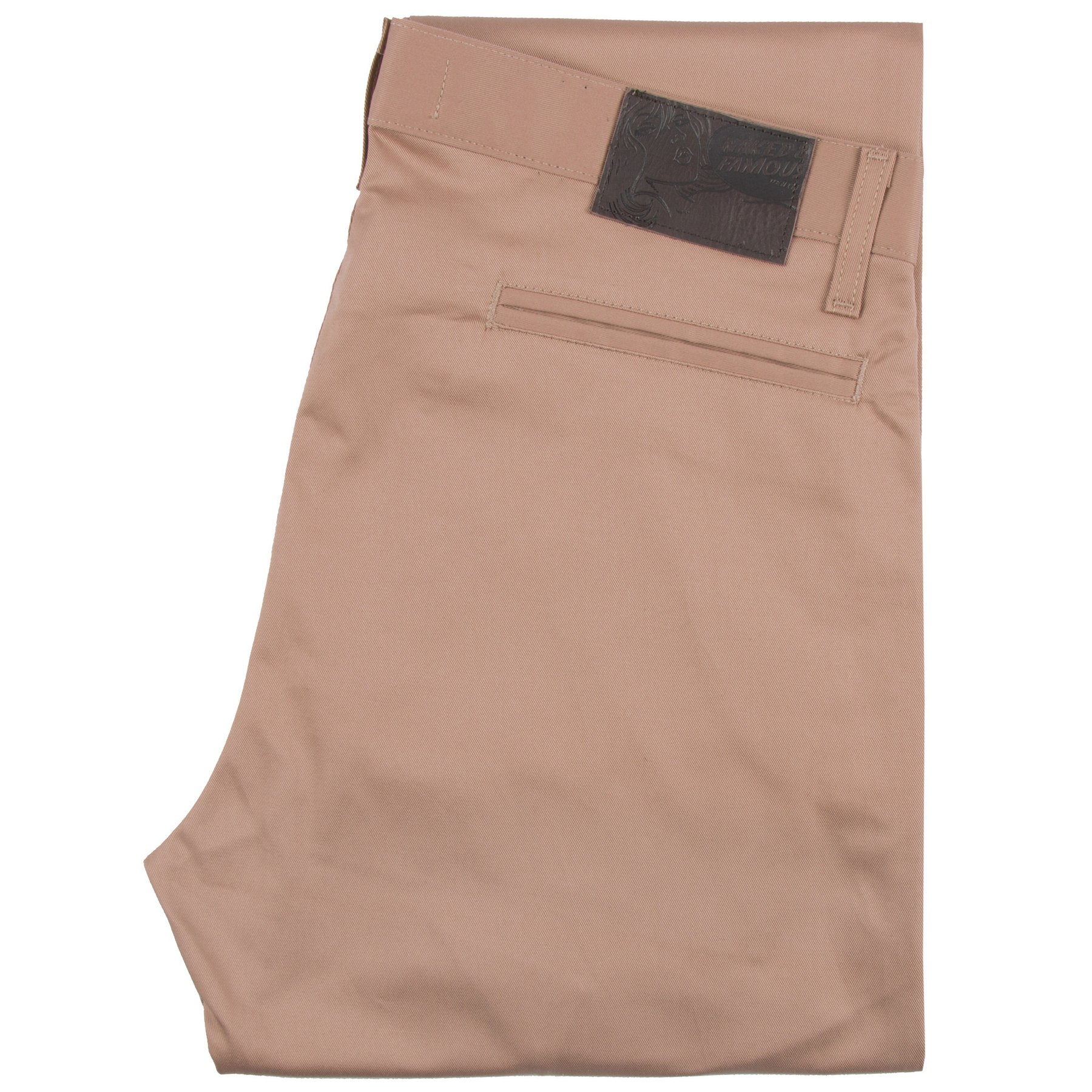 Beige stretch twill - Slim Chino