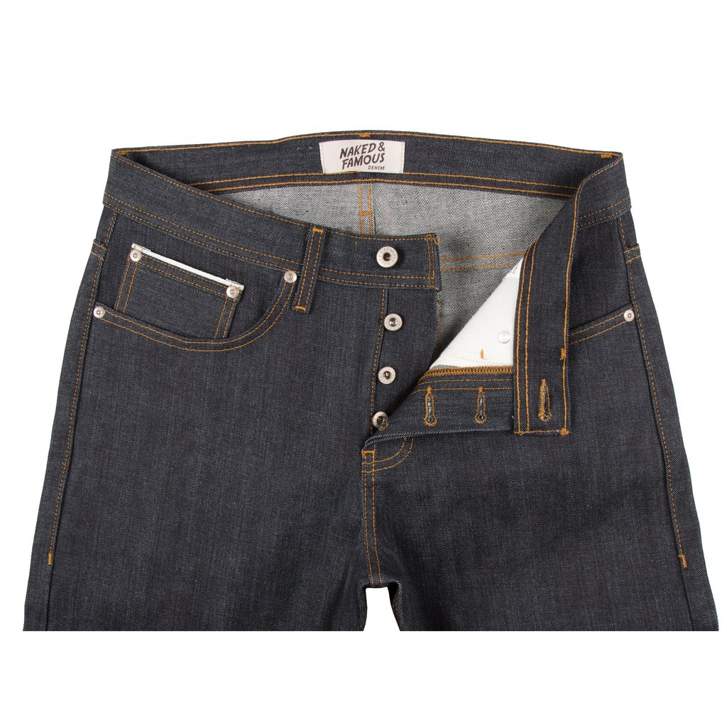 Left Hand Twill Selvedge Jeans Front