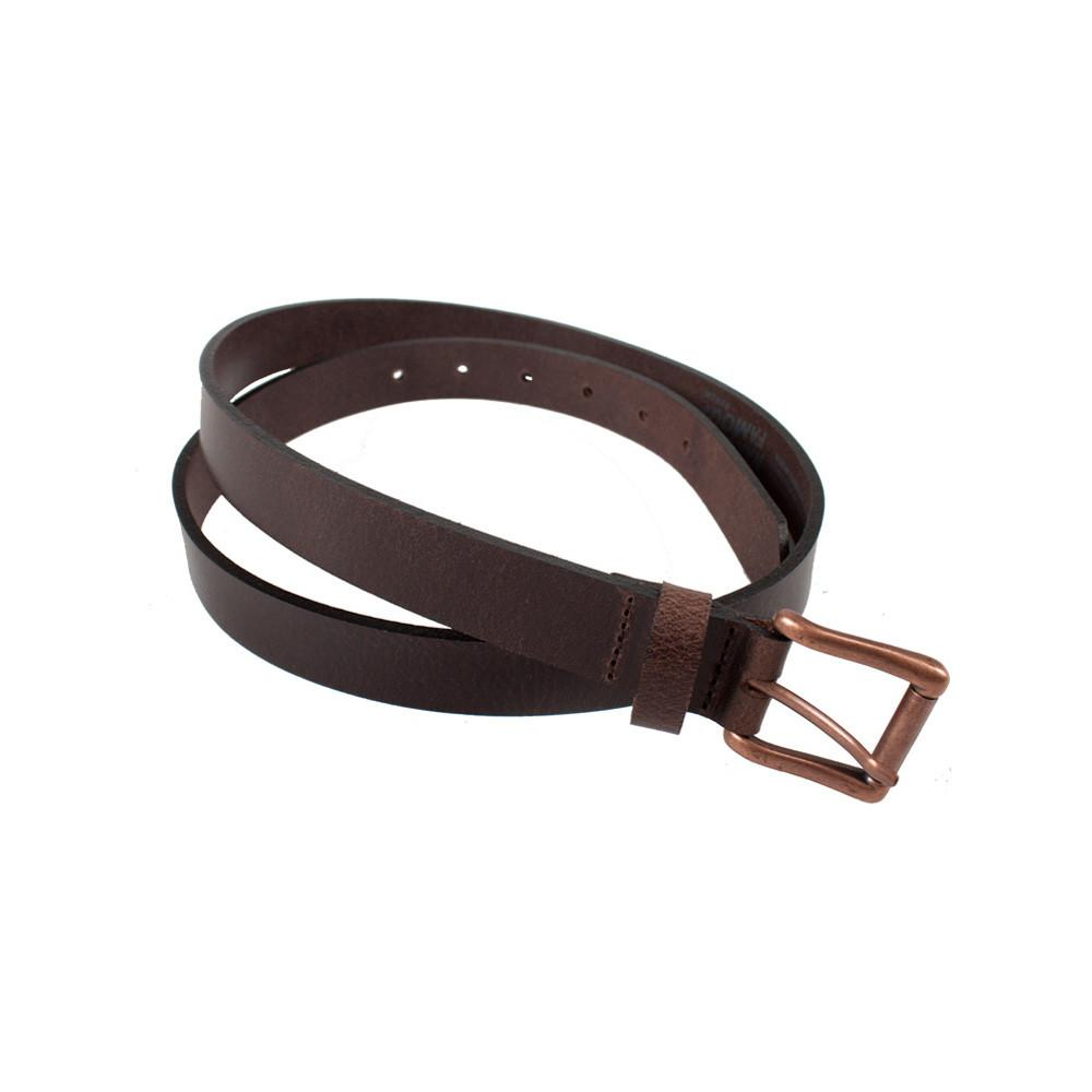 BROWN BUFFALO LEATHER - Buffalo Belt
