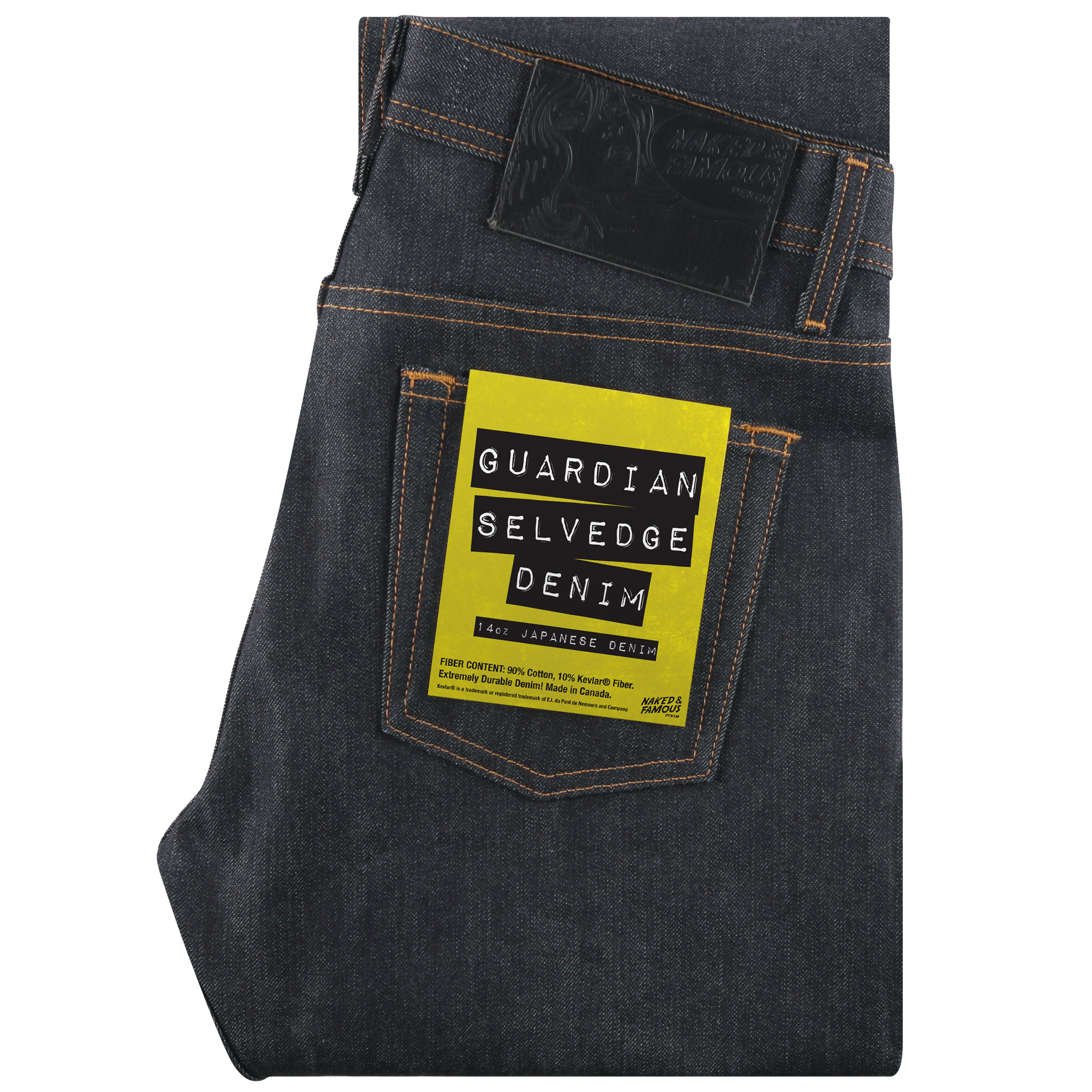 GUARDIAN SELVEDGE DENIM - Super Guy / Weird Guy / Easy Guy