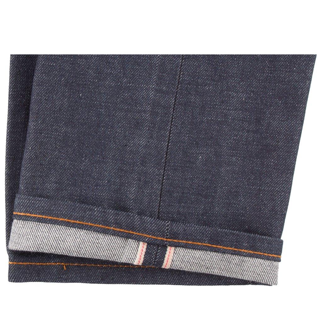 Dirty Fade Selvedge Jeans hem