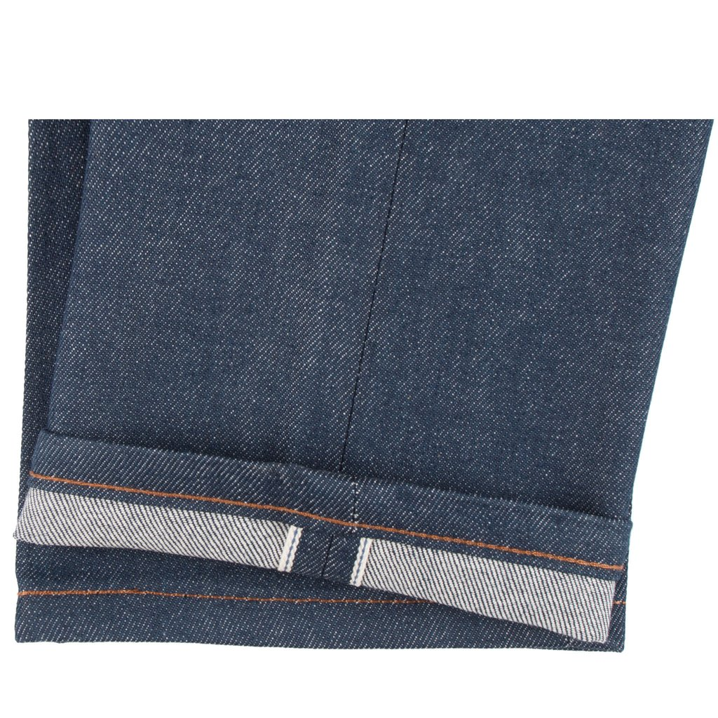 Natural Indigo Selvedge Jeans Hem