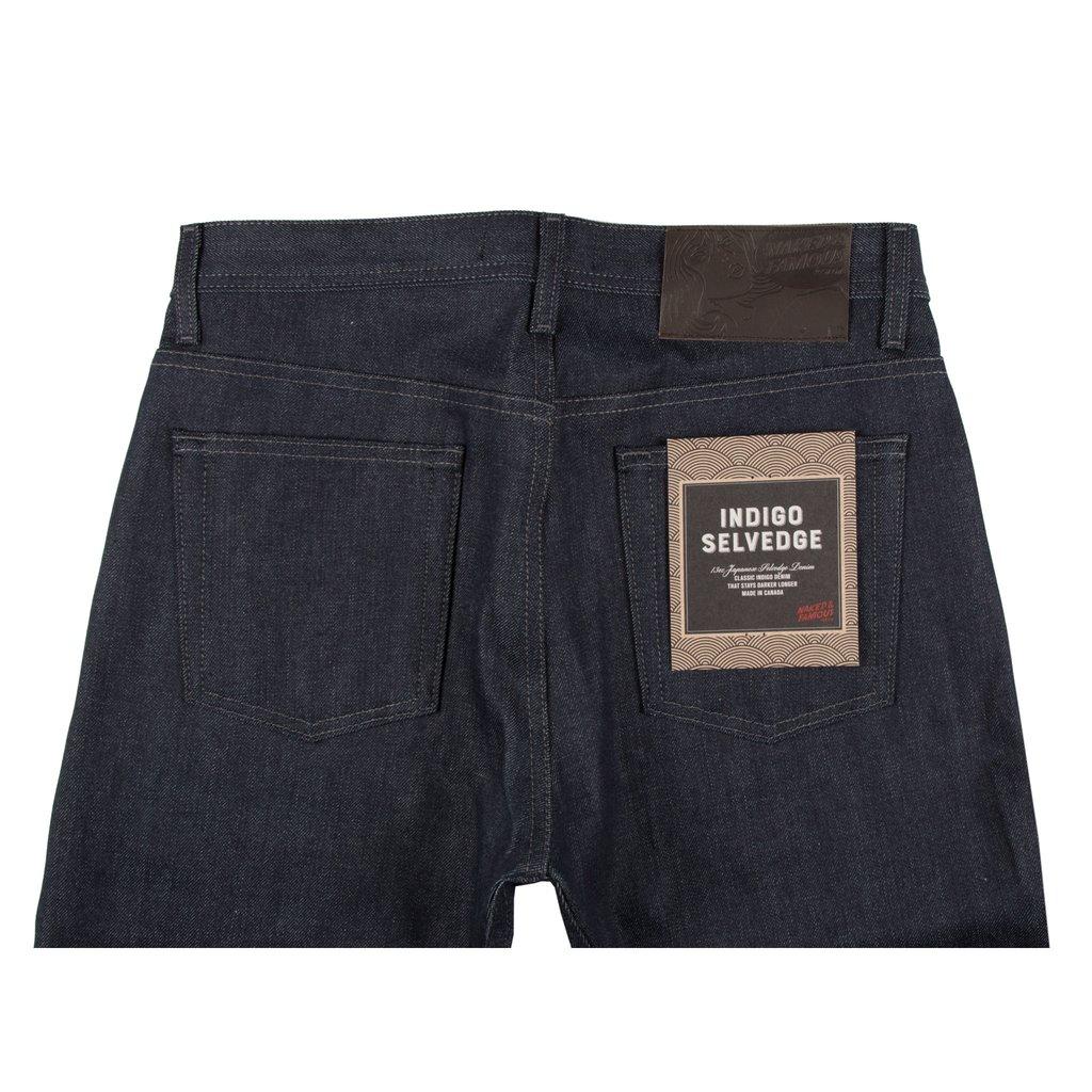 Indigo Selvedge Jeans back