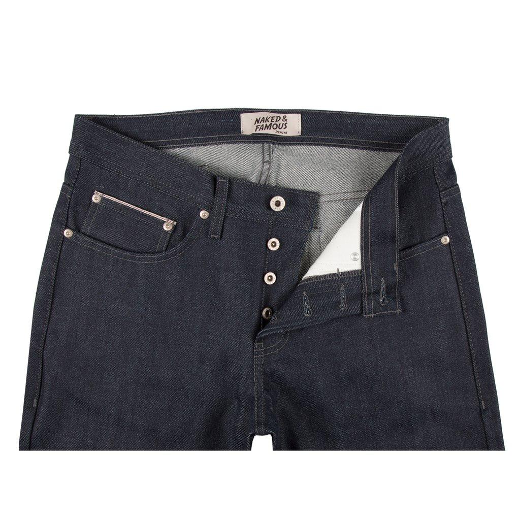 Indigo Selvedge Jeans front