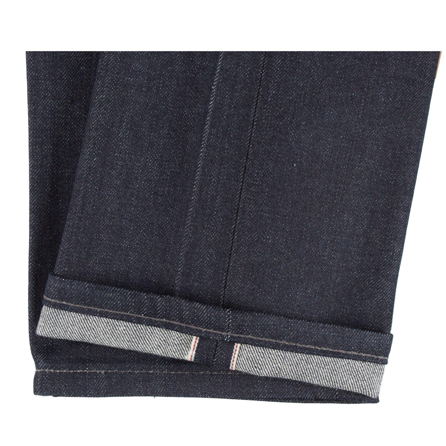 Indigo Selvedge Jeans hem