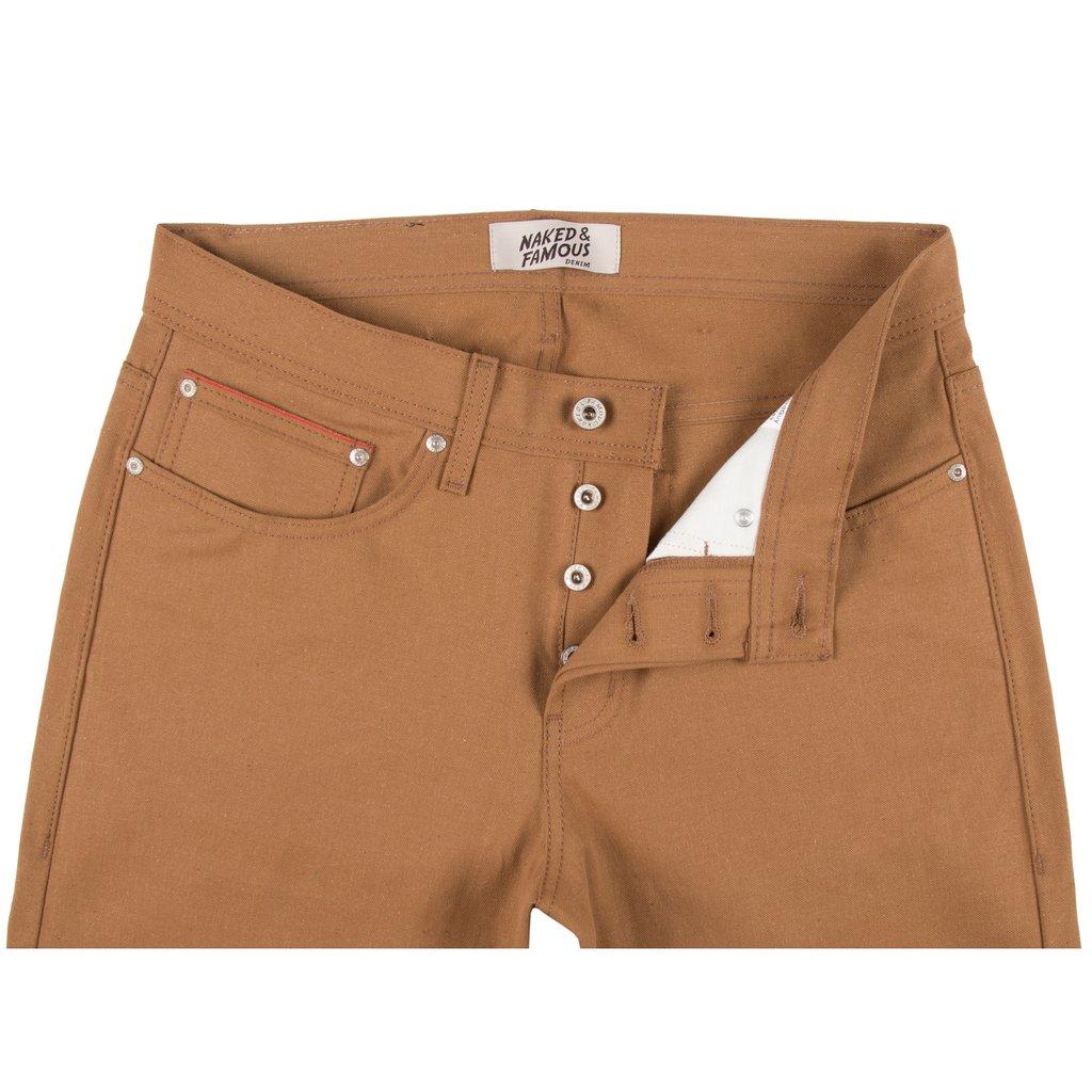 Duck Canvas Selvedge jeans front