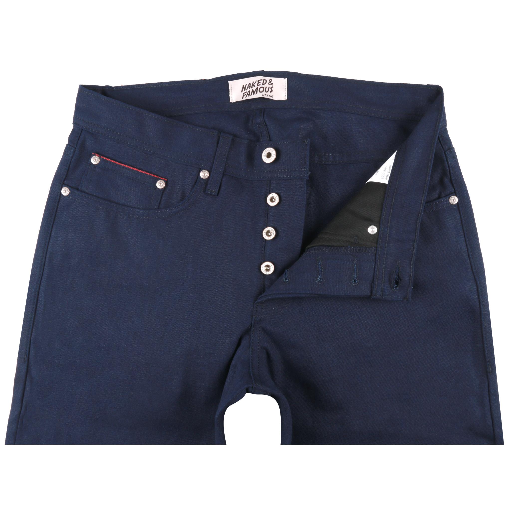 Indigo Duck Canvas Selvedge jeans front
