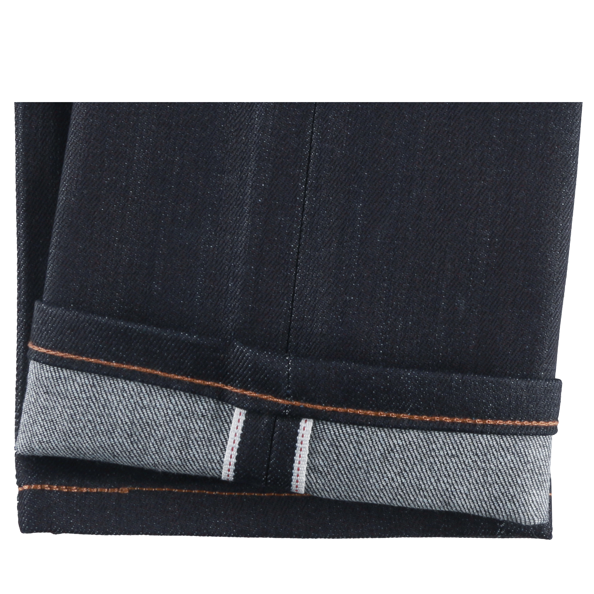 Night Shade Stretch Selvedge Jeans Hem