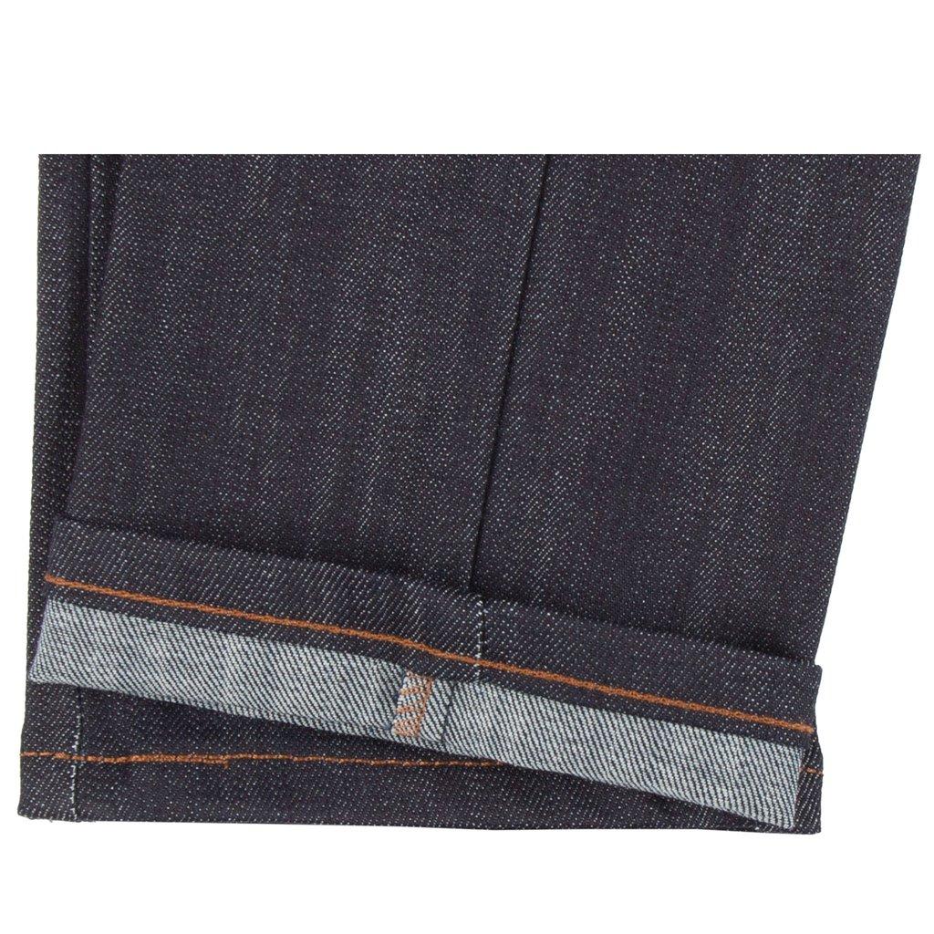 Indigo Power-Stretch Jeans Hem