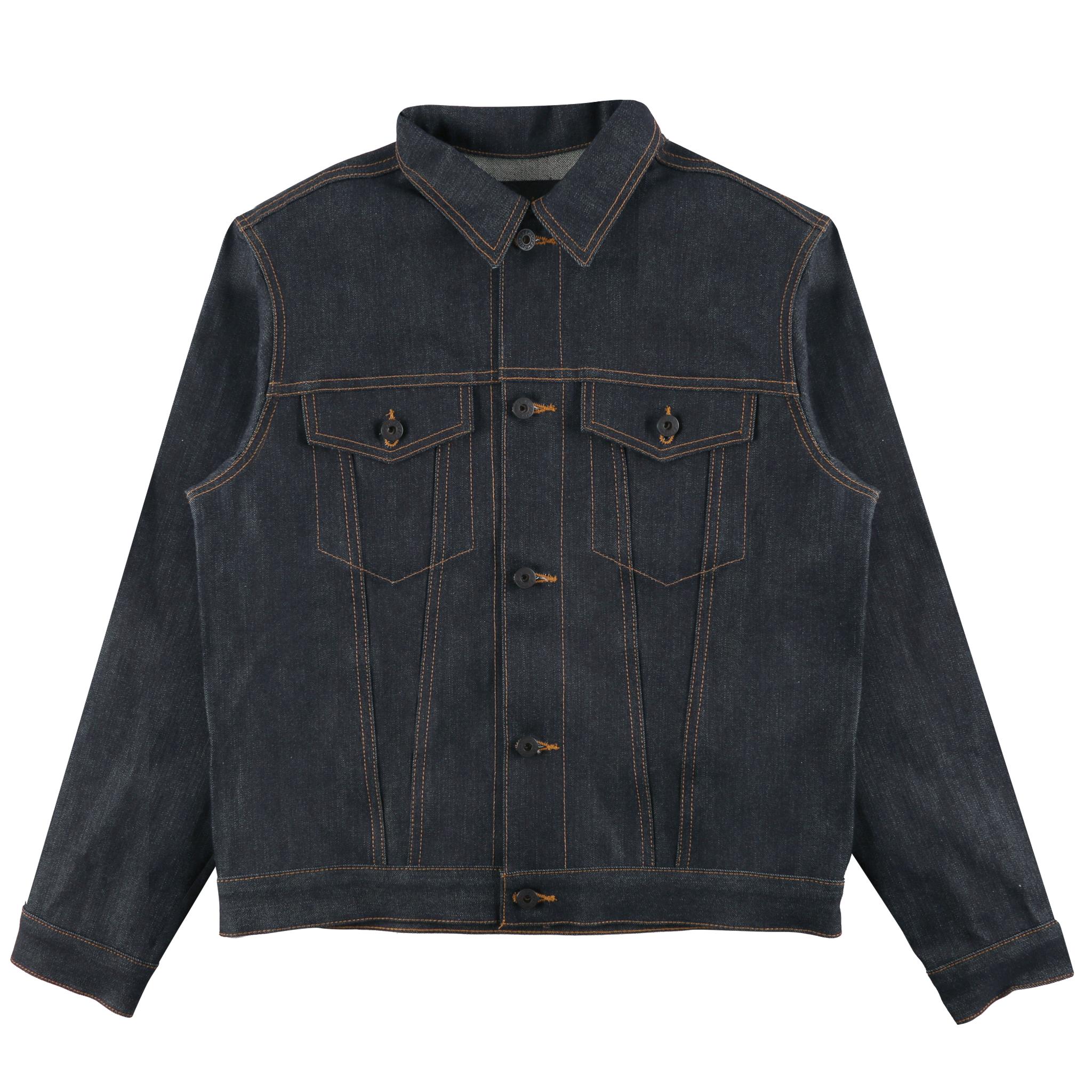 Guardian Selvedge Denim Jacket Front View