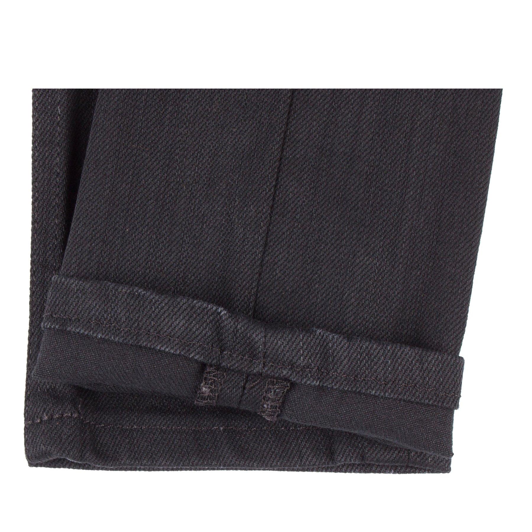 Women's Black Power-Stretch jeans Hem