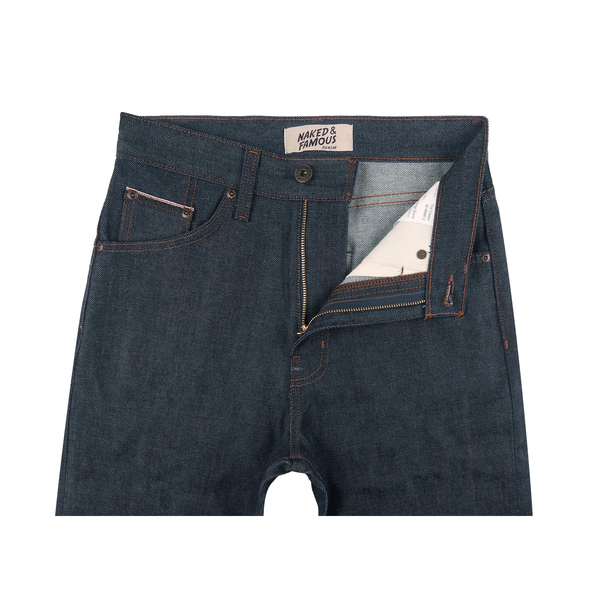 Women's 11oz Indigo Selvedge jeans front view