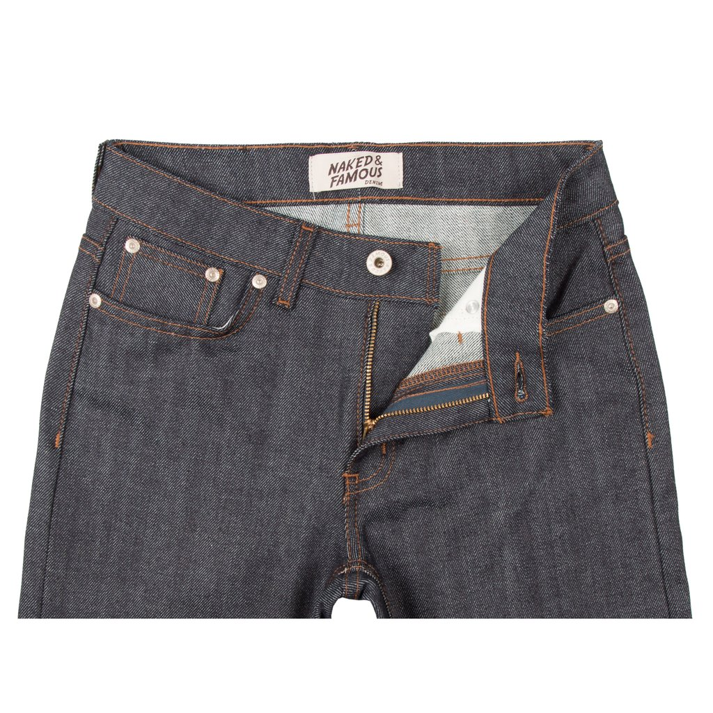 Women's Stretch Selvedge jeans front view