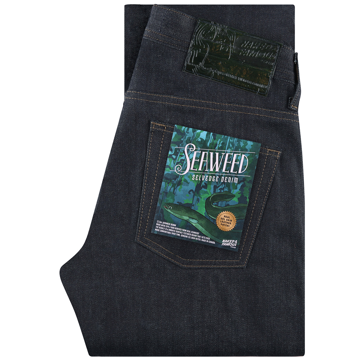 SEAWEED selvedge - Super Guy / Weird Guy / Easy Guy
