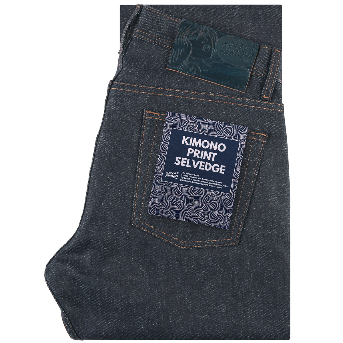KIMONO PRINT selvedge - Super Guy / Weird Guy / Easy Guy