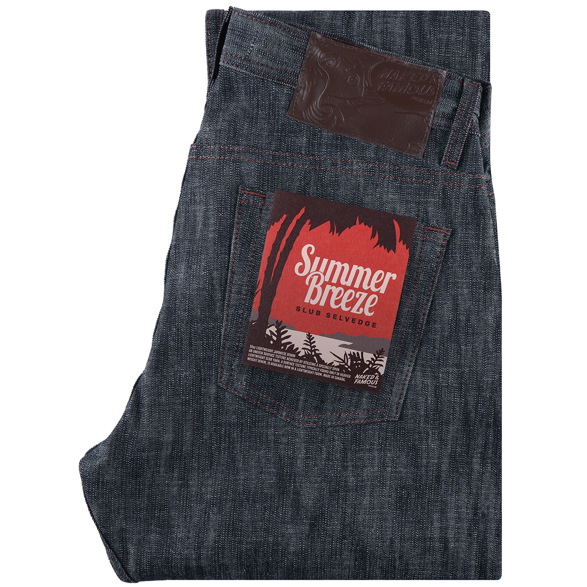 SUMMER BREEZE SLUB selvedge - Super Guy / Weird Guy / Easy Guy