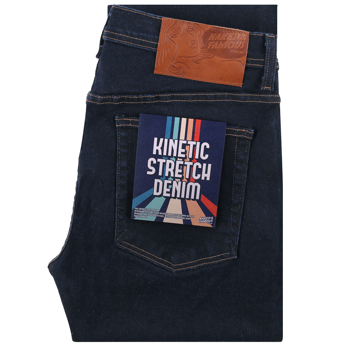 KINETIC STRETCH DENIM - Super Guy / Weird Guy / Easy Guy