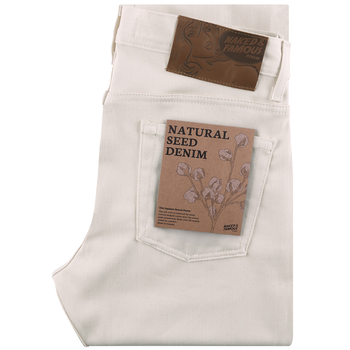 NATURAL SEED DENIM - Super Guy / Weird Guy / Easy Guy