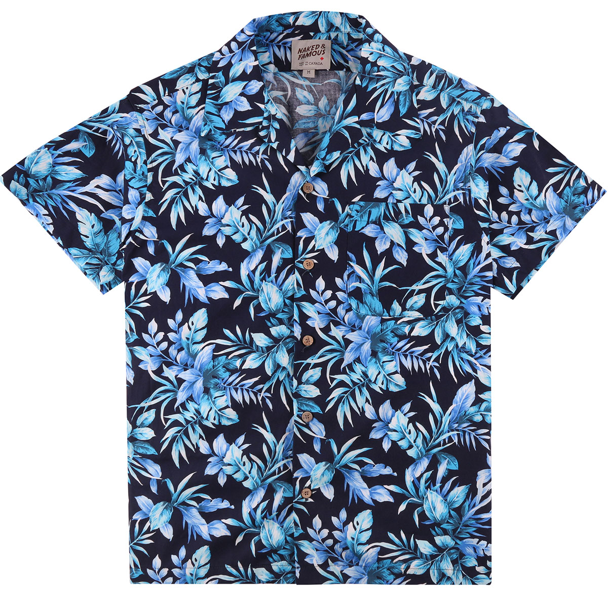 BIG TROPICAL - NAVY - Aloha Shirt