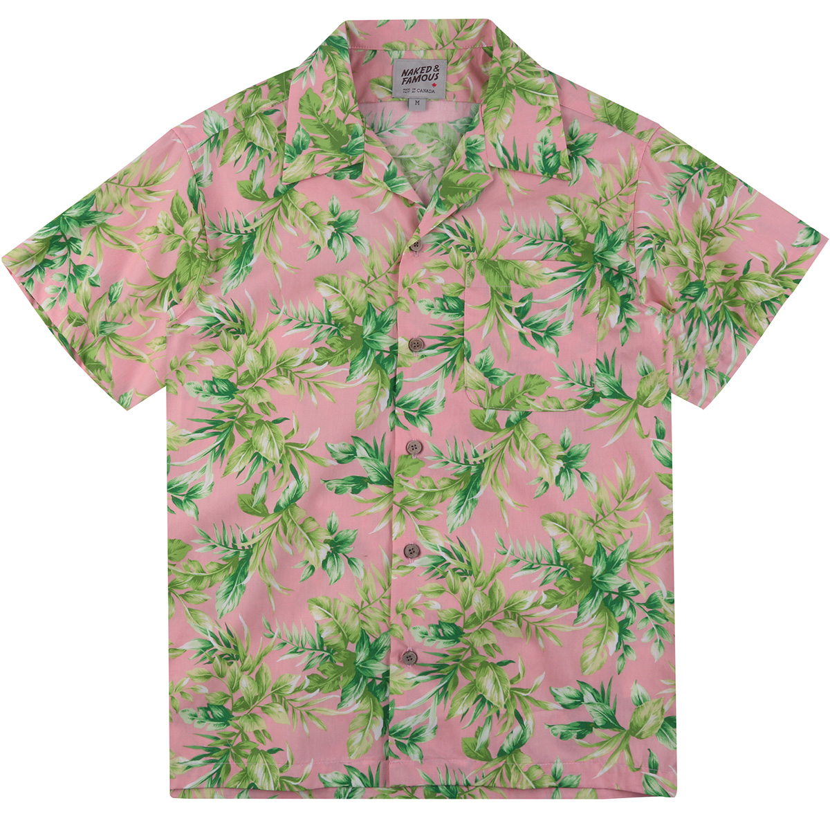 BIG TROPICAL -PINK - Aloha Shirt