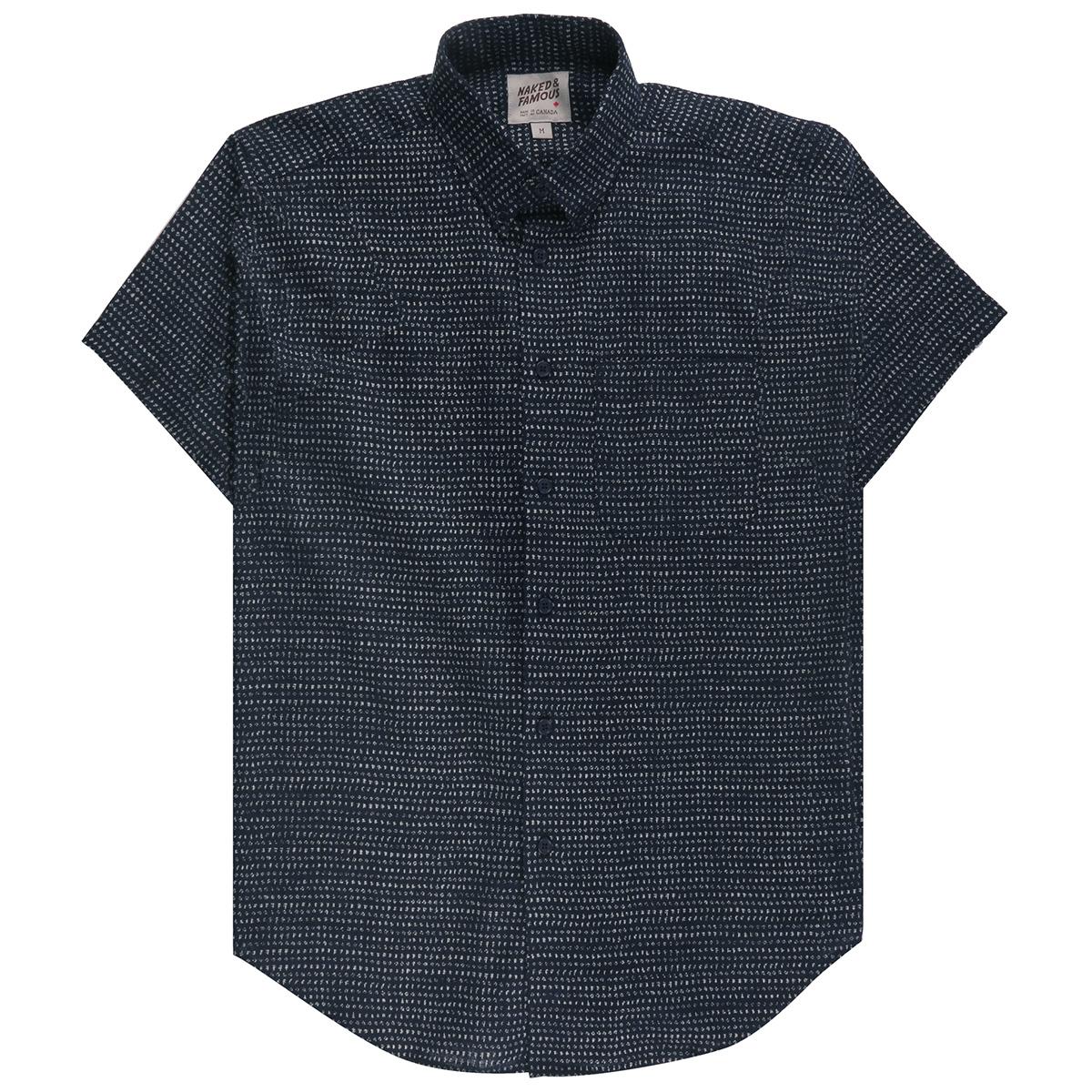 KIMONO CHON - Short Sleeve Easy Shirt