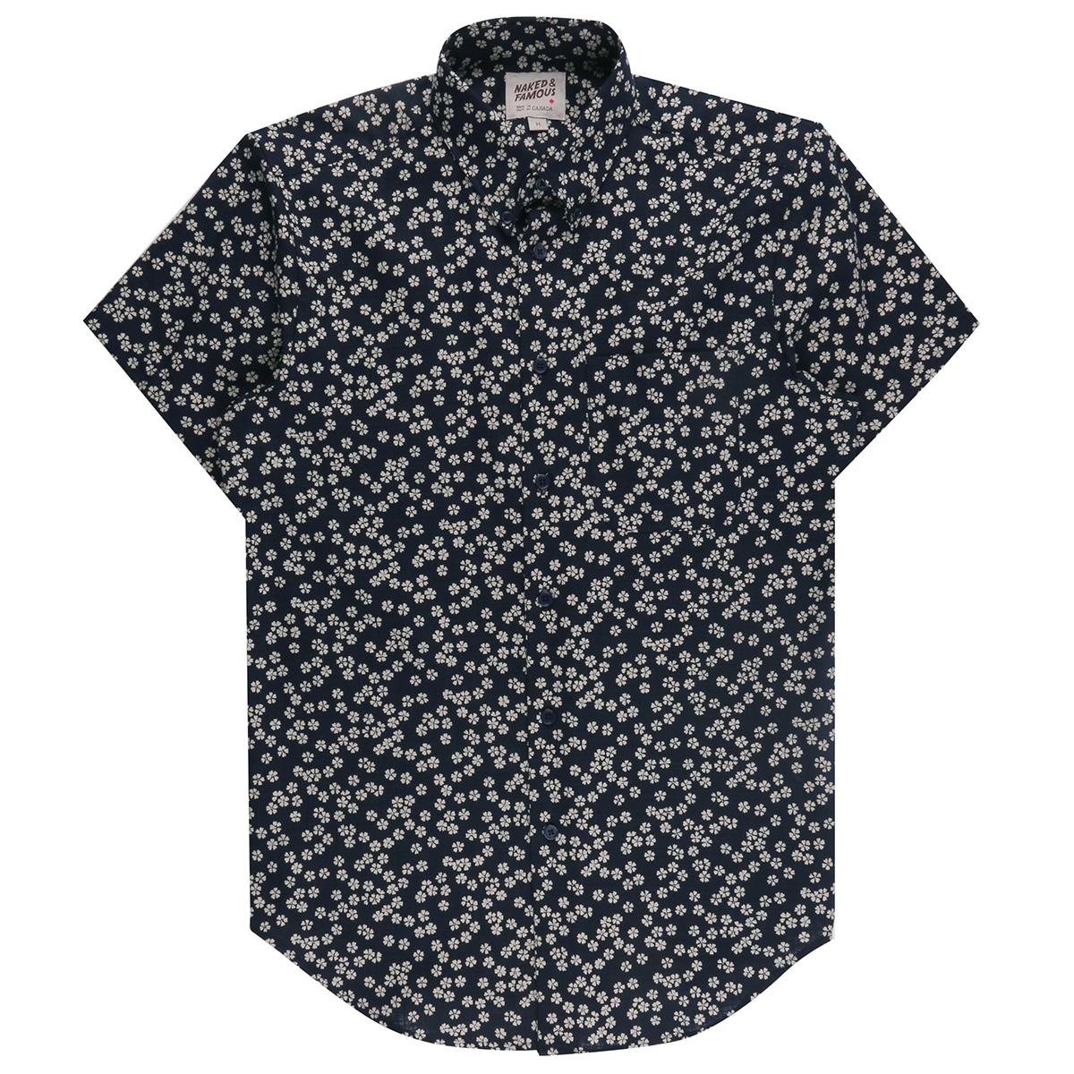KIMONO HANA - Short Sleeve Easy Shirt