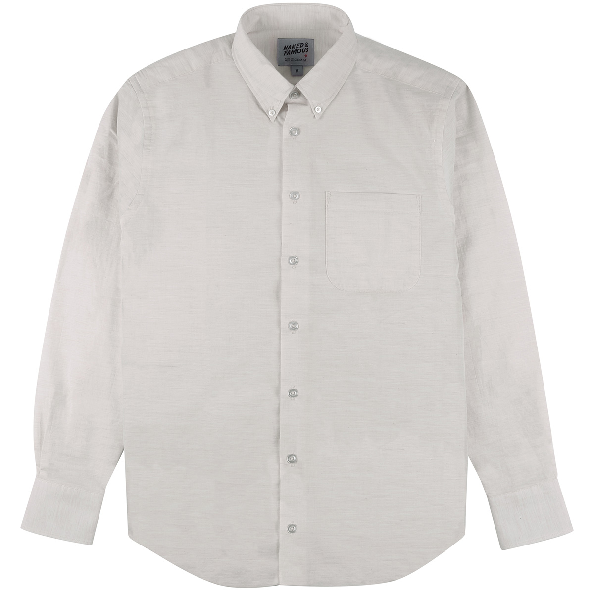 HEATHER GAUZE - PALE GREY - Easy Shirt