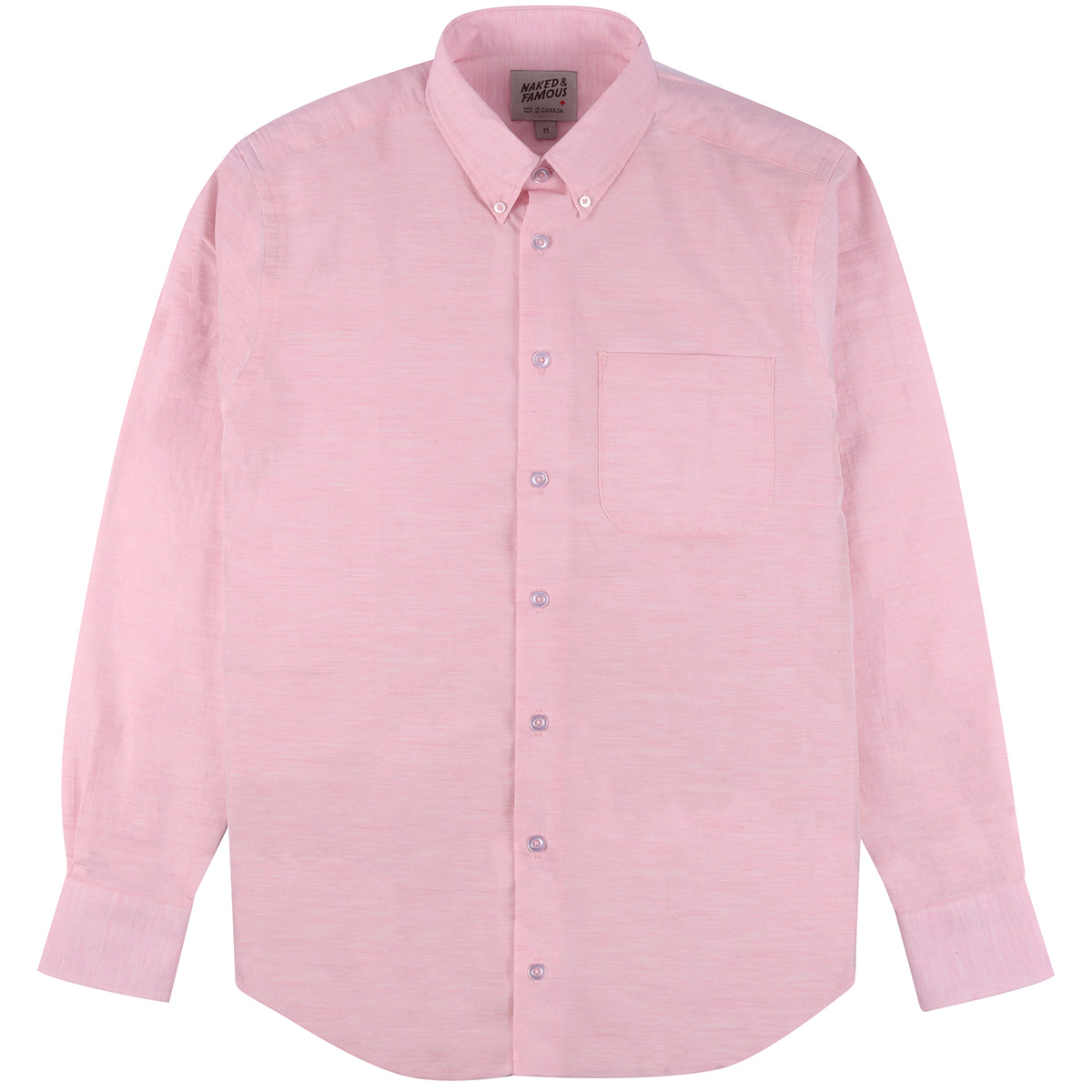 HEATHER GAUZE - PINK - Easy Shirt