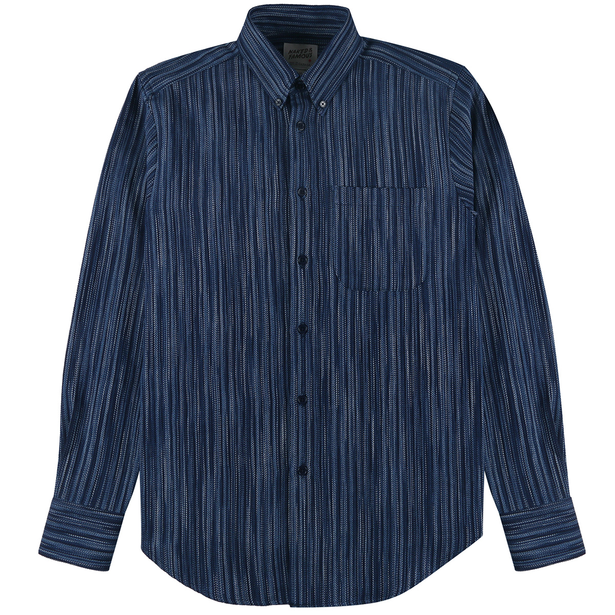INDIGO STRIPES - Easy Shirt