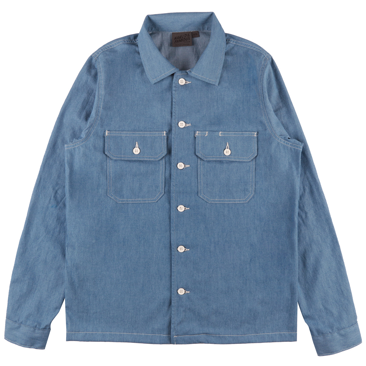 4.5oz BLEACHED DENIM - Workshirt