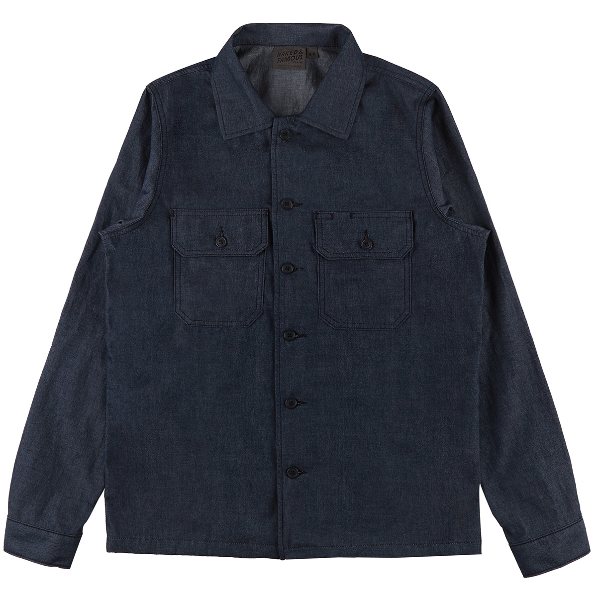 4.5oz INDIGO DENIM - Workshirt