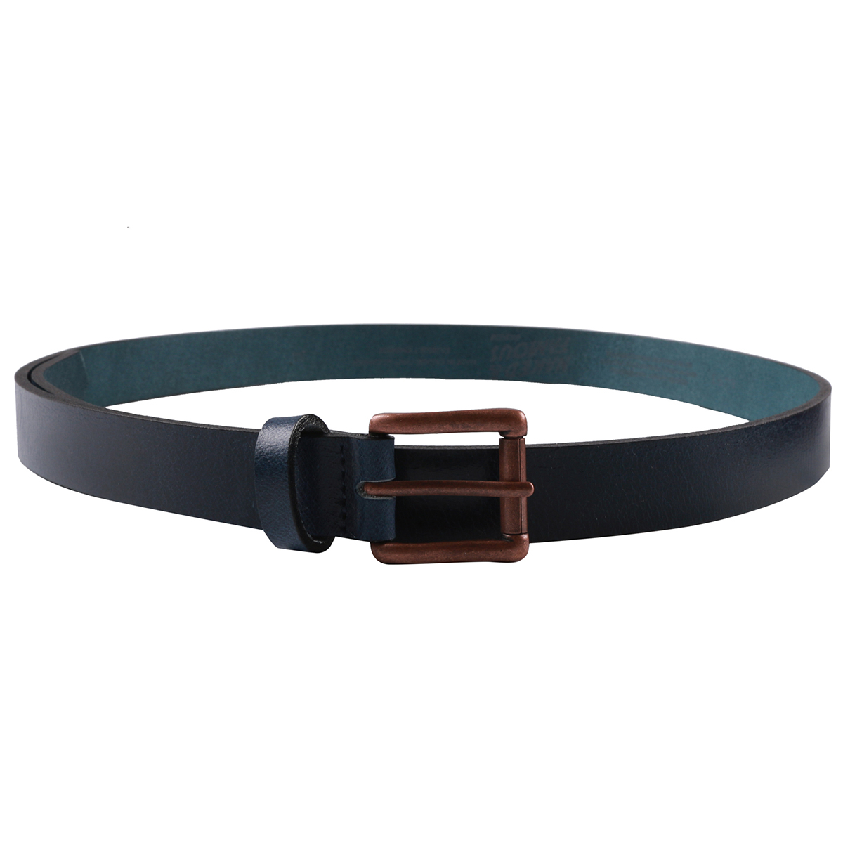 INDIGO BUFFALO LEATHER - Buffalo Belt