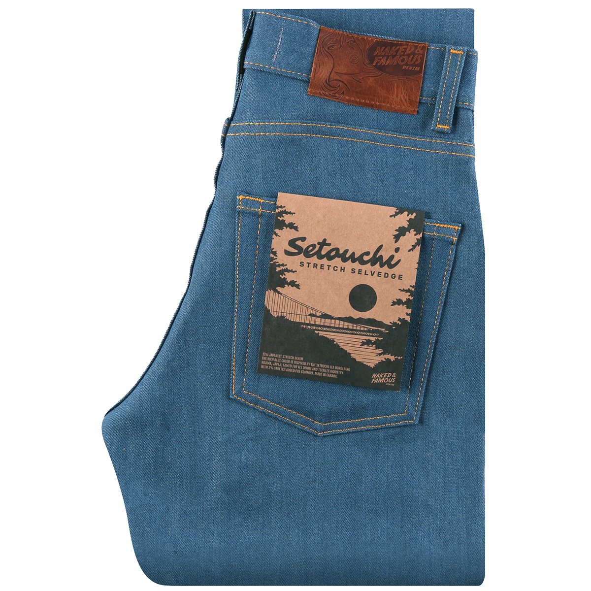 SETOUCHI STRETCH SELVEDGE - High Skinny / Max