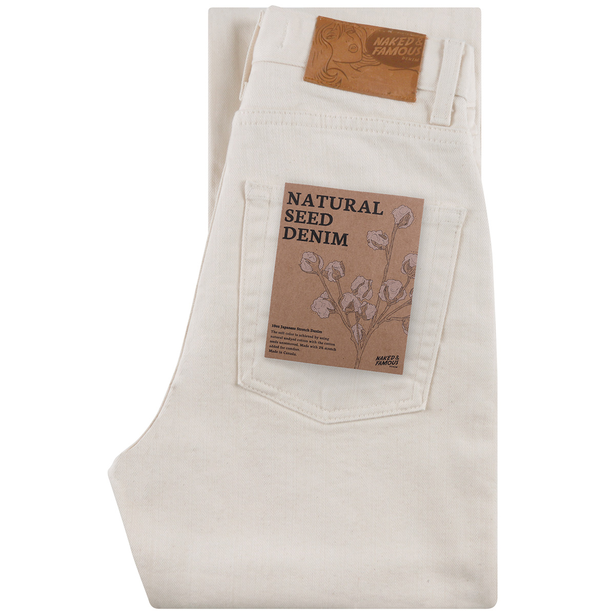 NATURAL SEED DENIM - Classic