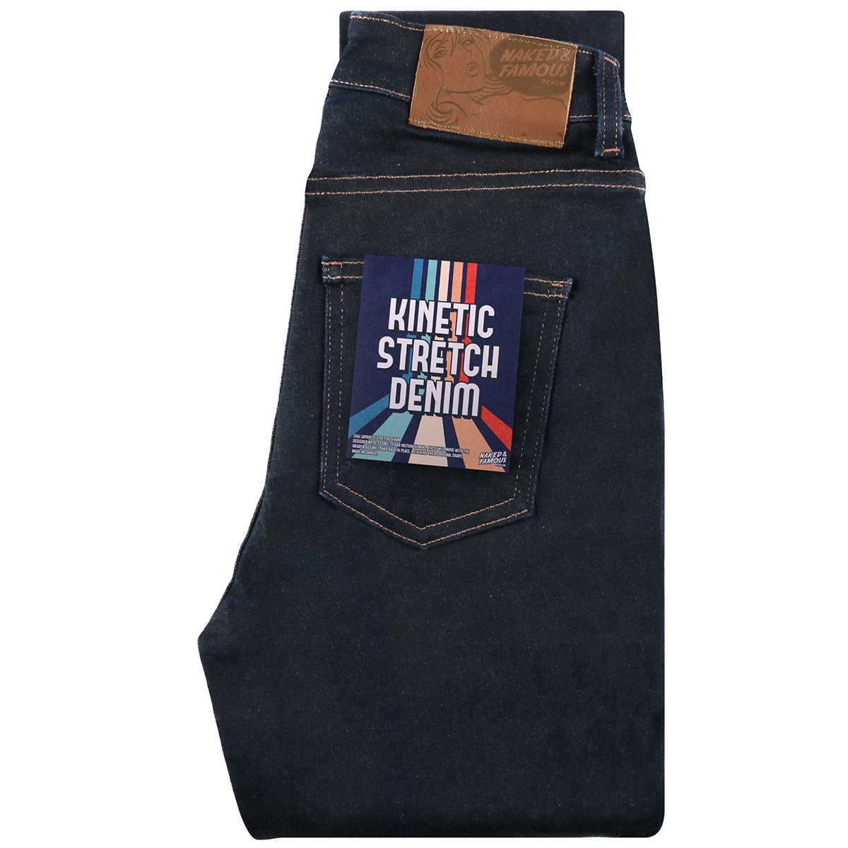KINETIC STRETCH DENIM - High Skinny