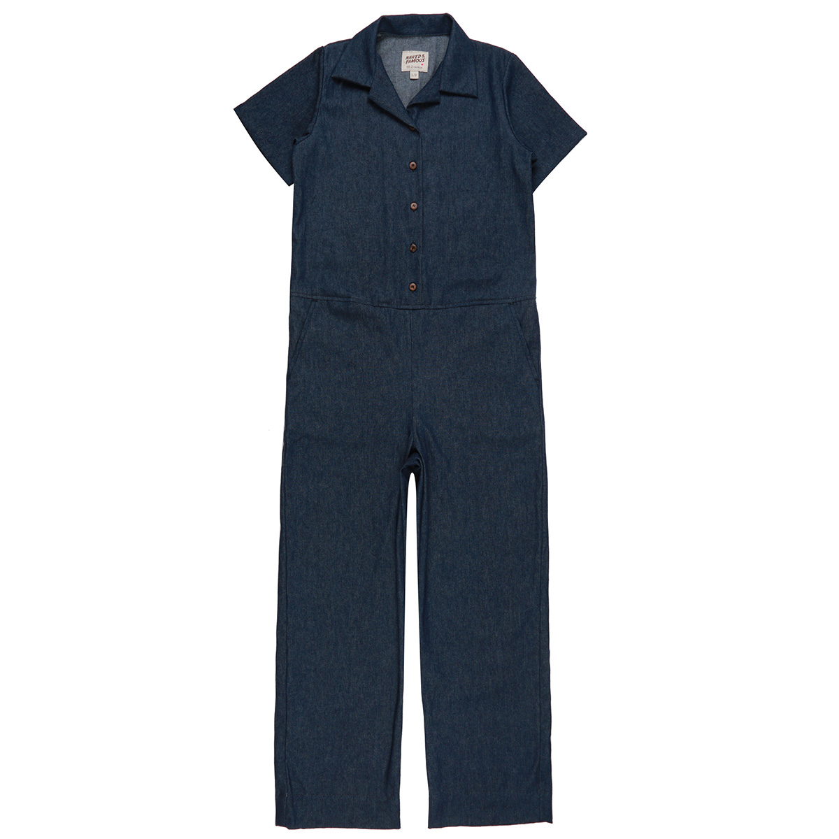 7OZ DARK INDIGO DENIM - Jumpsuit