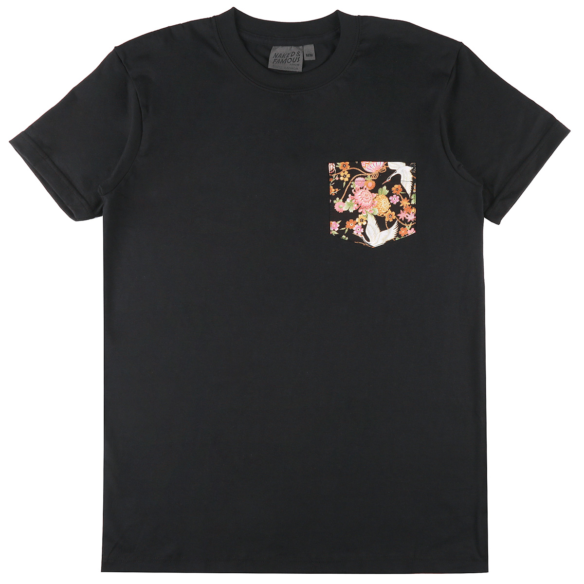 BLACK + JAPAN TSURU FESTIVAL - Pocket Tee